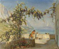 Амальфи с видом на Везувий