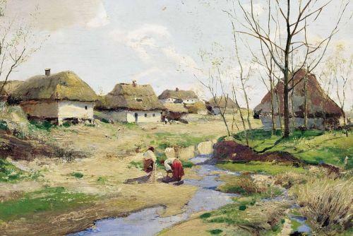 Весенний день в Украине