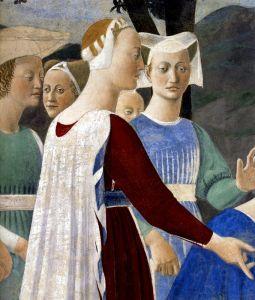 Франческа делла Пьеро Поклонение святому дереву 2