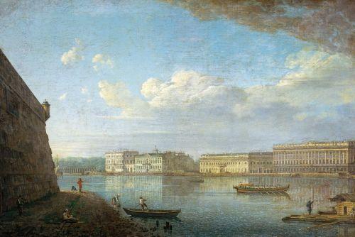 Вид палацової набережної