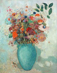 Редон Одилон Цветы в турецкой вазе