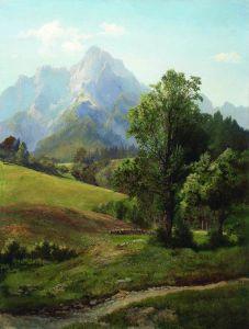 Мещерский Арсений Альпийский пейзаж