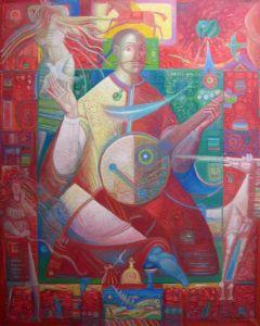 """Українське сучасне мистецтво Із серії """"Козак Мамай"""" - 91"""