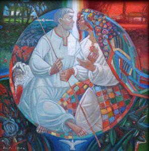 """Українське сучасне мистецтво Із серії """"Козак Мамай"""" - 106"""