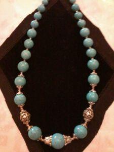 Ожерелье из бирюзы Бирюза
