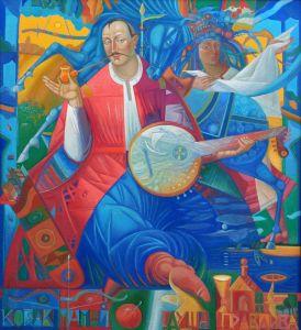 """Українське сучасне мистецтво Із серії """"Козак Мамай"""" - 102"""