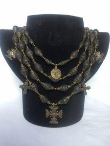 Beaded necklaces Вечірняя зоря