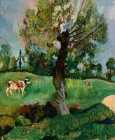 Ольха в поле