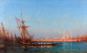 Зим Феликс Вид на Константинополь 2