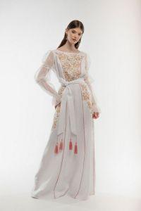 Вишиті сукні Сукня вишита Лелійка