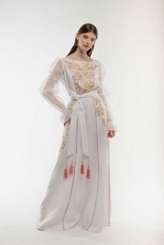 Платье вышитое Лелийка - изображение 1