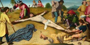 Герард Давид Христос Розіп'ятий на хресті