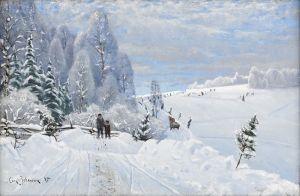 Йоханссон Карл Зимний пейзаж
