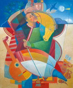 """Украинское современное искусство Из серии """"Казак Мамай"""" - 112"""