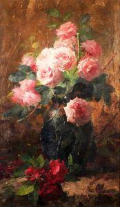 Мортельманс Франс Натюрморт с розами