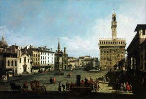 Рококо Площа Синьйорії у Флоренції