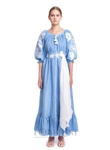 Платье-вышиванка «Волна»