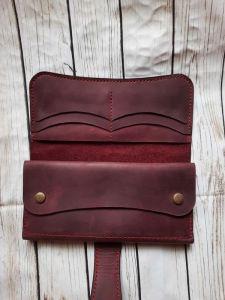 Гаманці ручної роботи Жіночий шкіряний гаманець