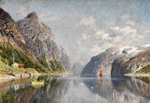 Норман Эйлерт Адельстен Norsk fjordlandskap