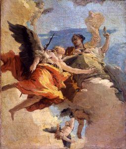 Рококо Аллегория добродетелей и дворянства