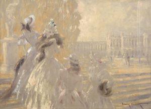 Модерн Осенью в Версале