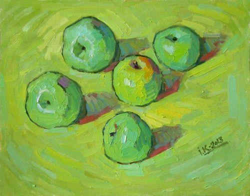 """Яблоки """"Симиренки"""""""