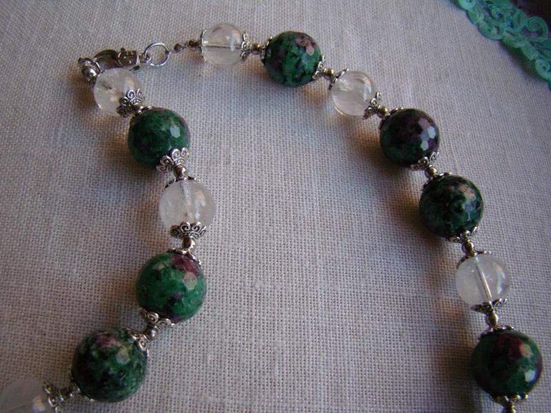 Гармония Зеленый Натуральный камень цоизит Агапова Юлия - фото 3