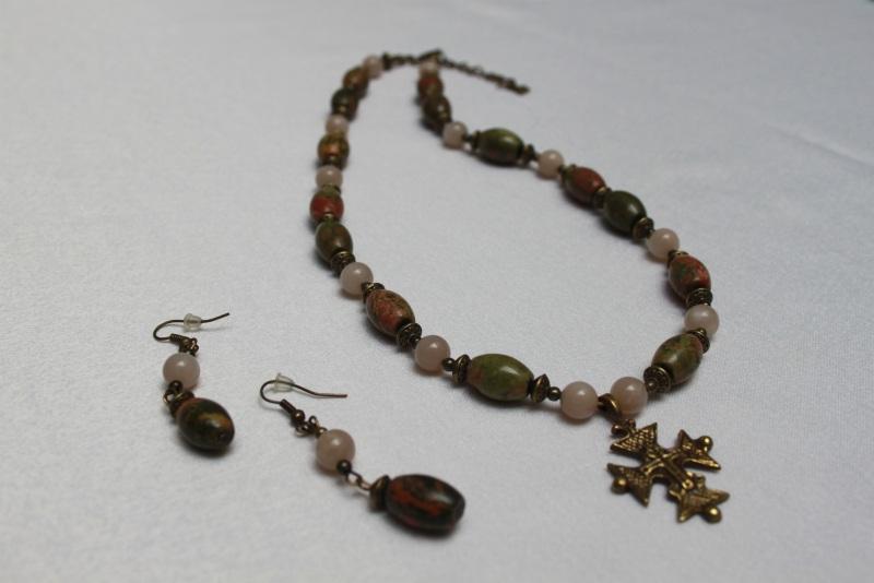 Яшма Разноцветный Унакит, солнечный камень, Агапова Юлия - фото 2
