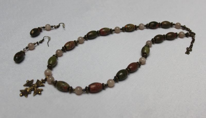 Яшма Разноцветный Унакит, солнечный камень, Агапова Юлия - фото 1