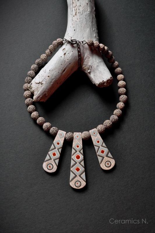 Тайна Бежевый  керамика, искусственный ш Амброзяк Надежда - фото 1