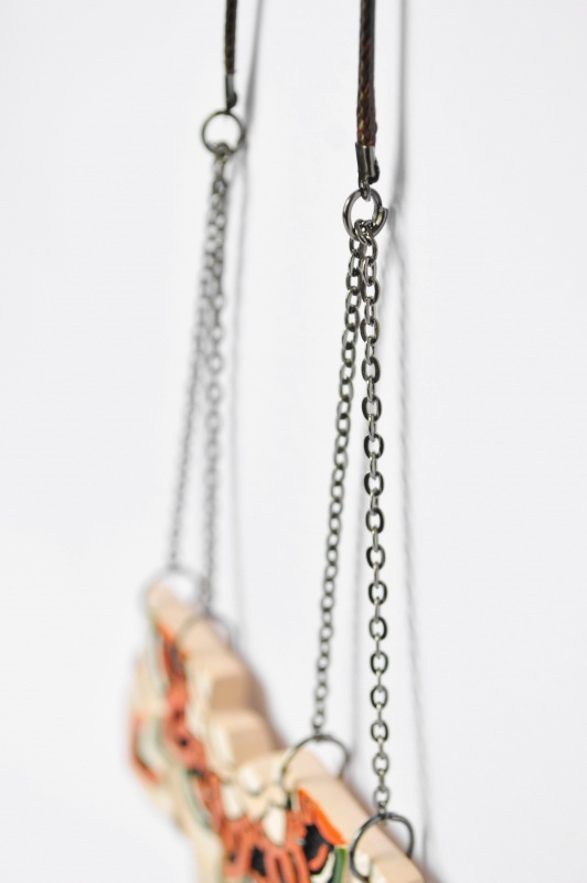 Мавка Оранжевый керамика, металл Амброзяк Надежда - фото 3