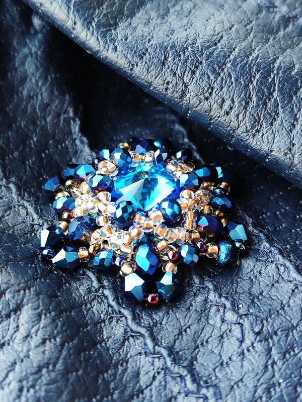 Очень красивые перчатки с кристаллами Сваровски  Екошкіра, кристали Сваров Бартенева Оксана - фото 5