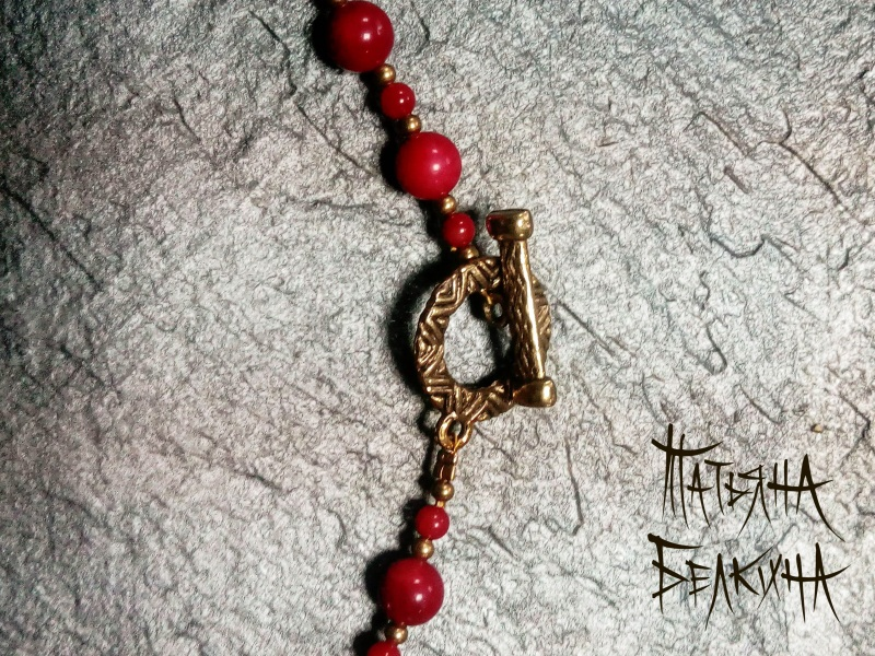 Тени забытых предков Красный Коралл, авторские згарды Белкина Татьяна - фото 5