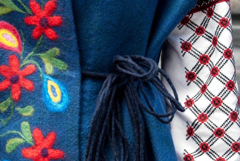 Жилет Цветы Ночи Коричневый шерсть, шелк, вискоза Березовская Оксана - фото 2