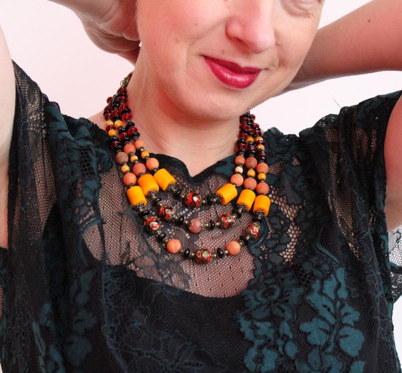 Ожерелье мечты Разноцветный В ожерелье использованы с Бжезинская Ирина - фото 4