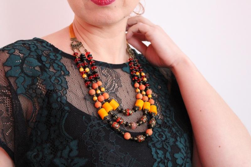 Ожерелье мечты Разноцветный В ожерелье использованы с Бжезинская Ирина - фото 1