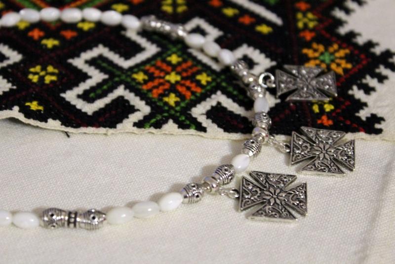 Перламутровый рай Белый перламутр, металлическая Бжезинская Ирина - фото 2