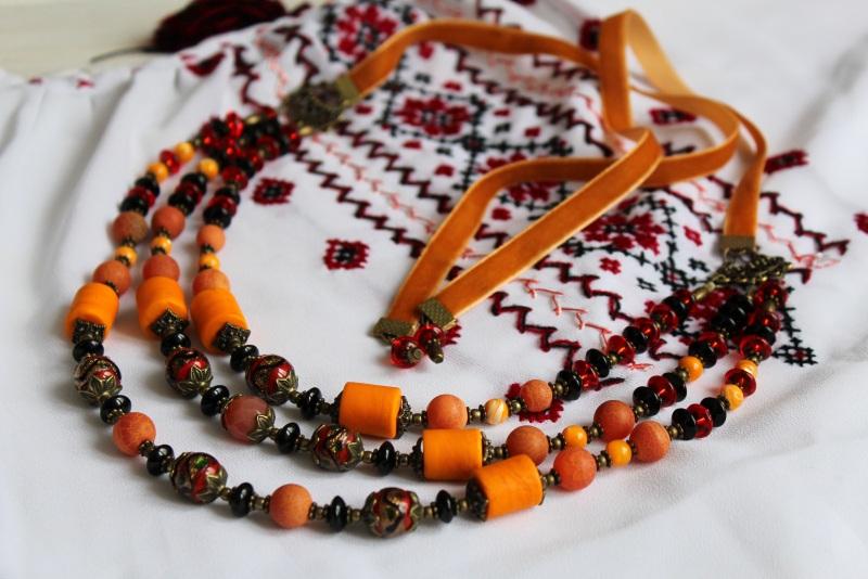 Ожерелье мечты Разноцветный В ожерелье использованы с Бжезинская Ирина - фото 2
