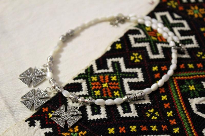 Перламутровый рай Белый перламутр, металлическая Бжезинская Ирина - фото 1