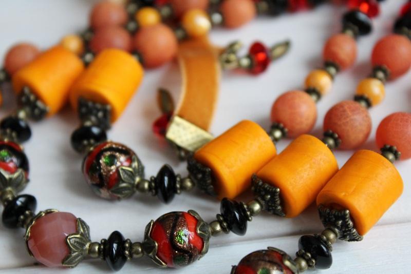 Ожерелье мечты Разноцветный В ожерелье использованы с Бжезинская Ирина - фото 3