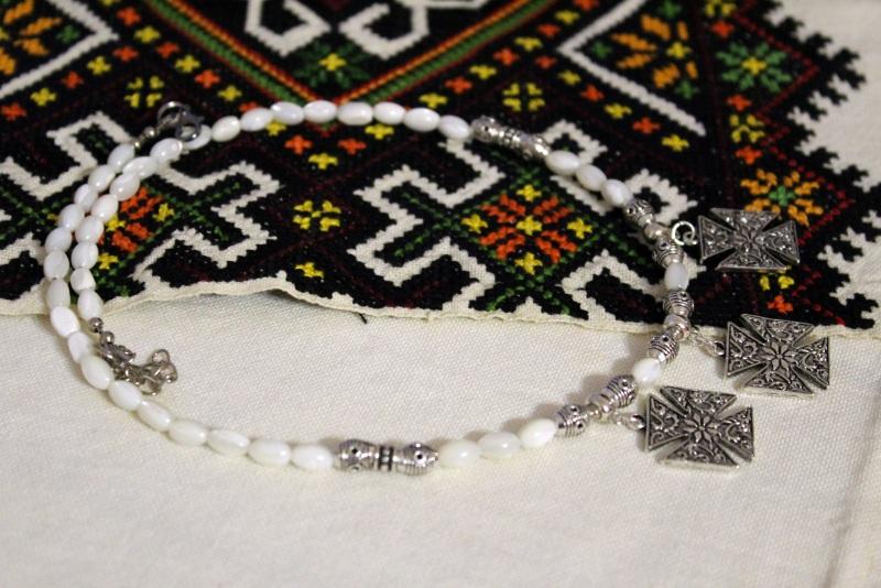 Перламутровый рай Белый перламутр, металлическая Бжезинская Ирина - фото 4