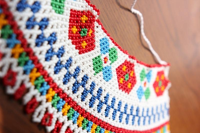 Силянка Радостная Разноцветный бисер чешский Бойчук Виктория - фото 1