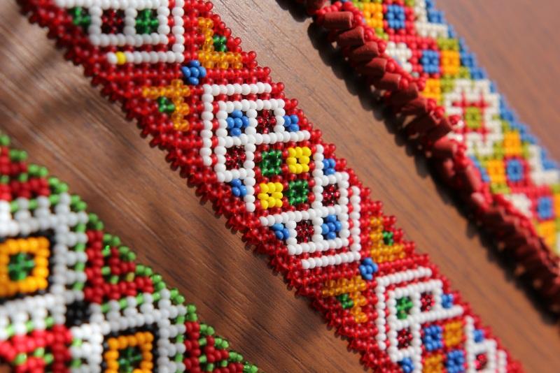 Силянка бойковская Разноцветный бисер чешский Бойчук Виктория - фото 1