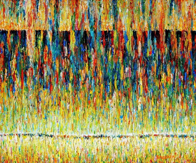 Морской блюз  холст, масло Брескин Александр - фото 1