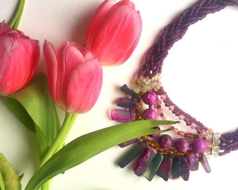 Подарок Диониса Разноцветный Волшебный мережевний агат Билокобыльска Полина - фото 3