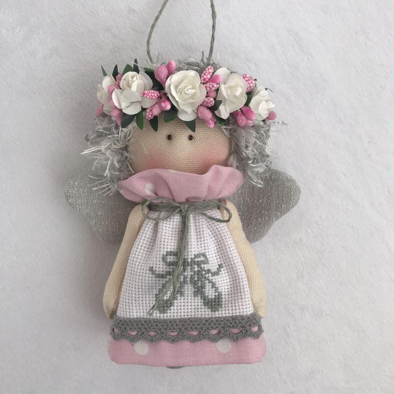 Ангелочек 2  Хлопок , панама для вышив DOLLka мастерская декора - фото 1