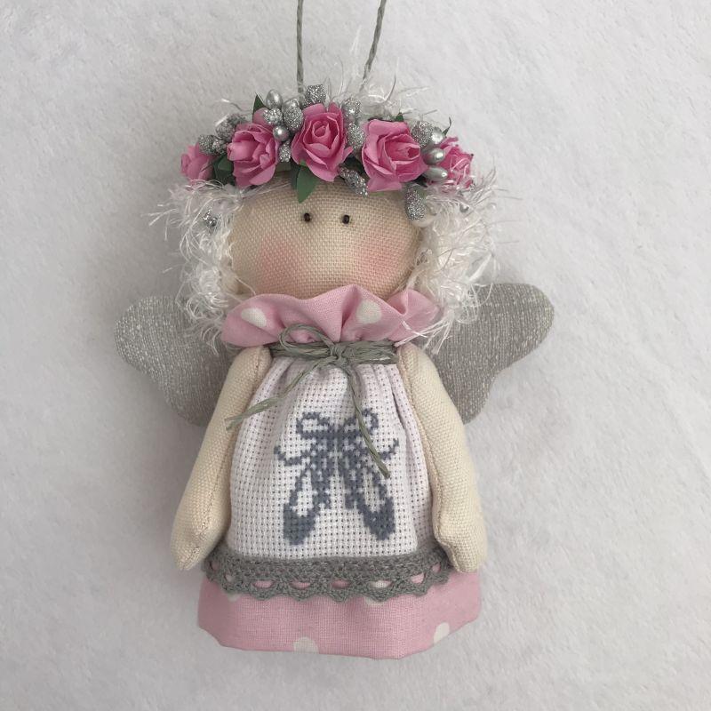 Ангелочек 2  Хлопок , панама для вышив DOLLka мастерская декора - фото 2