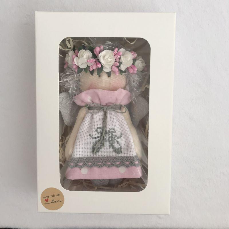 Ангелочек 2  Хлопок , панама для вышив DOLLka мастерская декора - фото 3