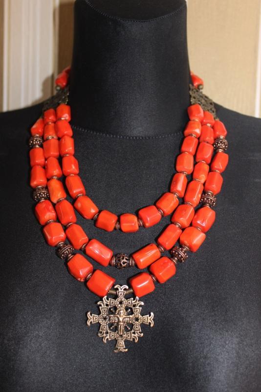 Будет мое Красный Ожерелье изготовлено из к Давибида Мария - фото 3