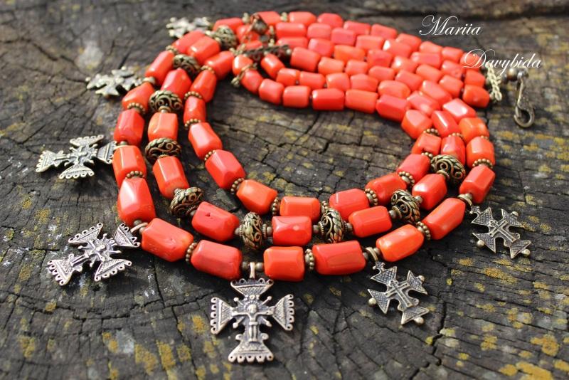 Шипшина Красный Ожерелье изготовлено из к Давибида Мария - фото 3